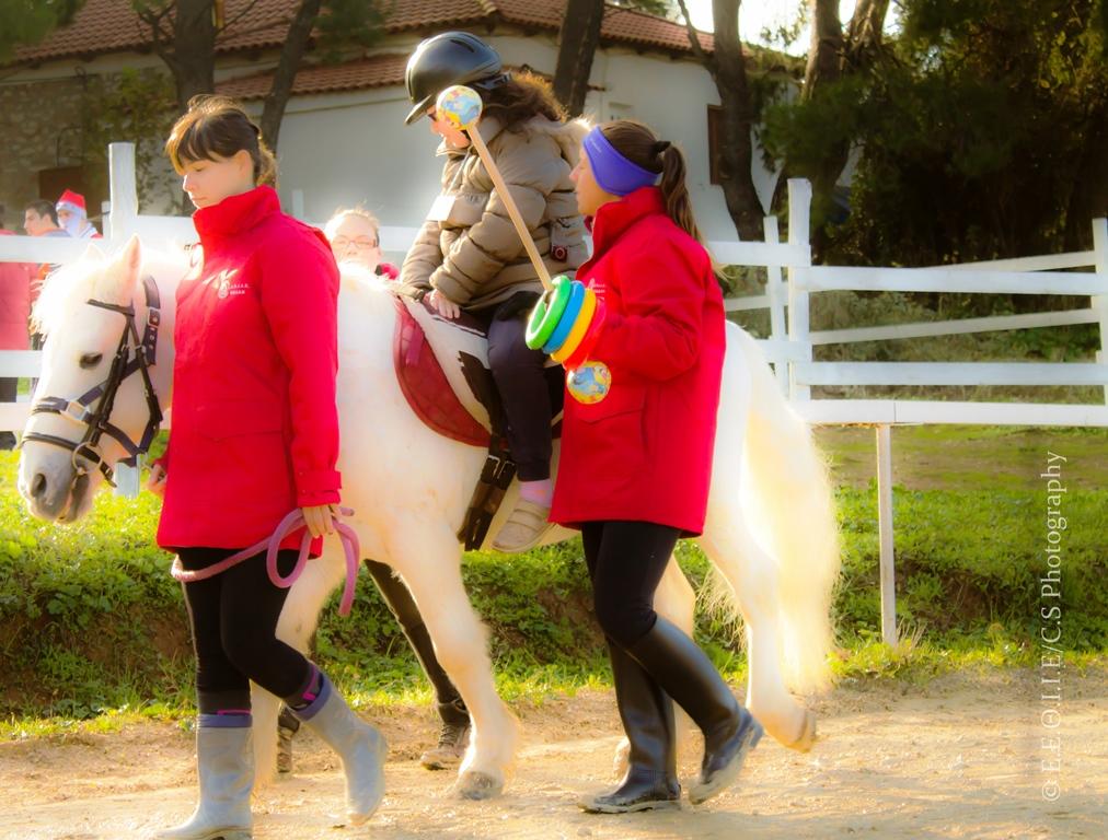 Γνωριμία με τη θεραπευτική ιππασία και ιπποθεραπεία στην Εκάλη