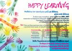 Ομάδες «Happy Learning» από το Δίκτυο Psy-Counsellors