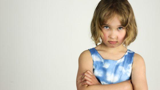 Η κόρη μου έχει θυμό για όλα!